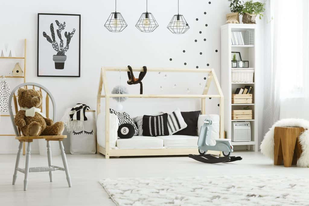 חדר תינוקות מעוצבת